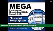 Read Online  MEGA Professional Knowledge: Middle School (062) Flashcard Study System: MEGA Test