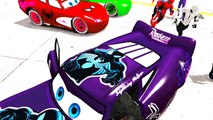 Disney Cars All Style Spider-Mans Suits, Nursery Rhymes McQueen Custom Spidermans Children Songs