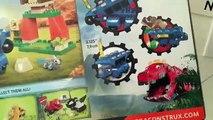 Dinotrux Toys Mega Bloks Mega Construx Ton Ton Target Toss