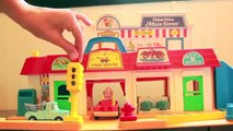 Mater Visits Fisher Price Little People Fire Truck Rescue Squad Mater Ice Cream Mater