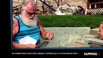 Un Américain en larmes en apprenant la grossesse de sa fille, l'émouvante déo