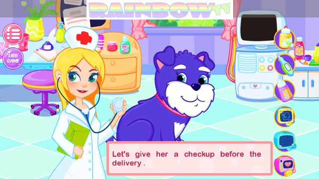 Animal Doctor Care. Puppies Need YOUR HELP: Care of Pets. A Pregnant Dog Care. Kids Game App.