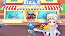 Elsas Restaurant Steak Taco Salad - Frozen Games For Kids