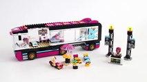 Lego Friends 41106 Pop Star Tour Bus - Lego Speed Build