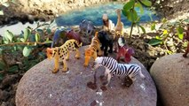 Learn Learning Zoo Farm Wild Animals Names Toys Kids Children Toddler Video Toy Fun Slime Pool DIY