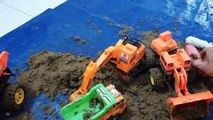 Bulldozer Videos for Kids   Excavator   Dump Truck   Learning Animals Sounds For Kids