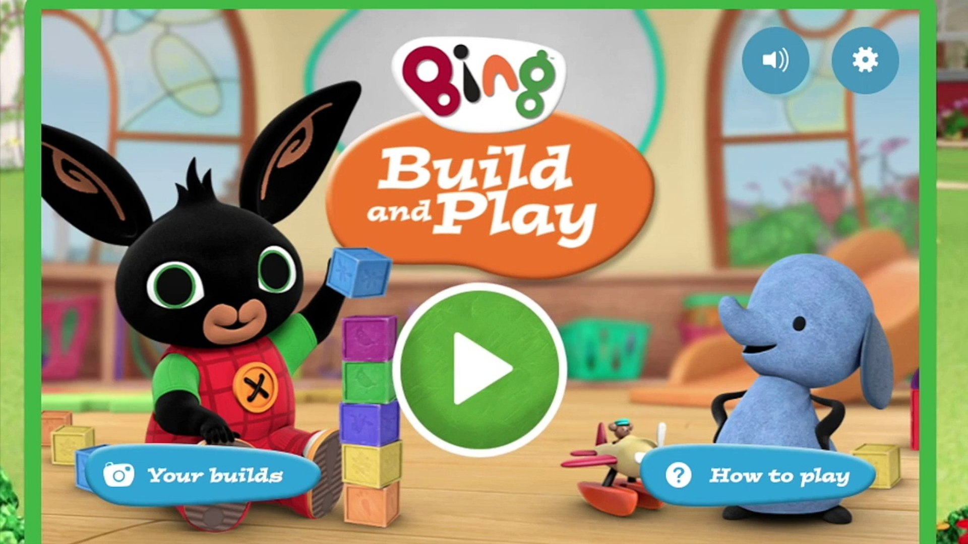 CBeebies Bing Build and Play Blocks Truck Fun Baby Fun Fun