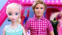 Frozen Elsa 39 s Kid Alex LOST at the Barbie Mall Play Doh Makeover amp DisneyCa