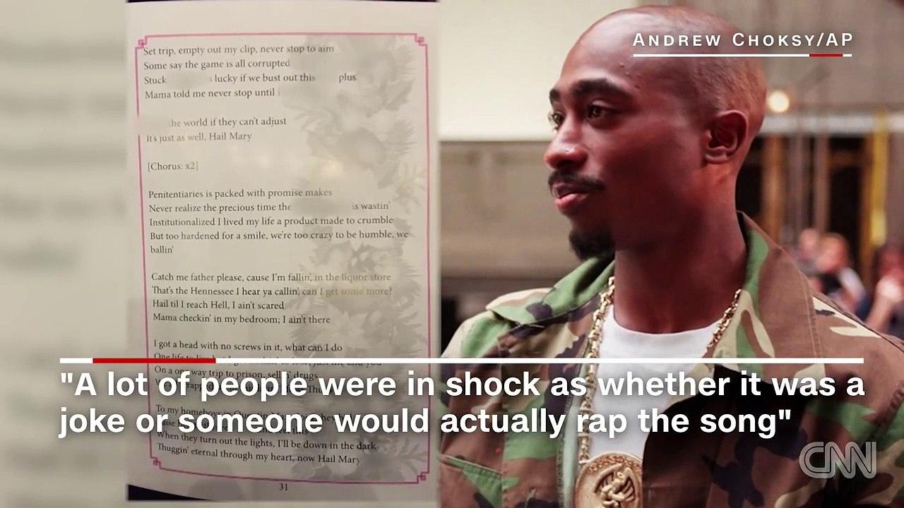 Tupac lyrics mistakenly added to church program