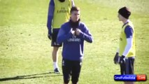 Cristiano Ronaldo imita los vomitos de Messi • 2016