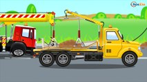 The Excavator Goes Back In Time - Compilation 2 hours - Animations For Kids