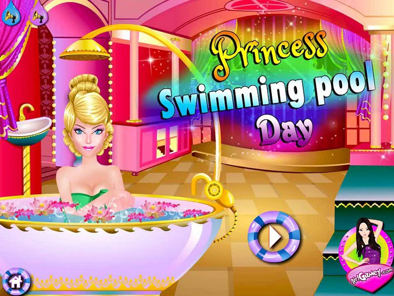 Игра про бассейн для принцессы! Игра для девочек! Детская игра! Video For Kids!