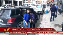 HDP Eş Başkanları Demirtaş ve Yüksekdağ tutuklandı