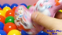 #5 Play Doh Surprise Egg Toys #Kinder Surprise Maxi Eggs#PLAY DOH Kinder Play Doh