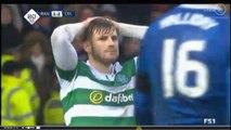 Rangers vs Celtic 1-2 Amazing Miss chance (Celtic)  31-12-2016 (HD)