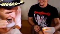 COMEDY VIDEOS _ JACKASS - Two guys drink candle.  Funny Videos. LOL. EPIC FAIL-CZ7NrM-OR0k
