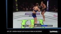 UFC 207 - Ronda Rousey: L'ancienne championne battue en seulement 48 secondes (Vidéo)