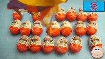 24 Kinder Surprise Eggs NEW Big Box of 2016 TOYS! Kinder Surprise Eggs Unboxing