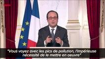 Hollande: des voeux aux Français et surtout des mises en garde très politiques