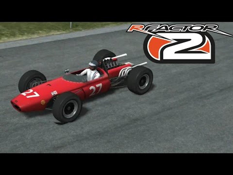 RFactor 2 | Spa Francorchamps Historic 1968 | Brabham BT20 (1966)