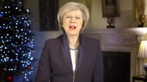 Prime Minister Theresa May's New Year message