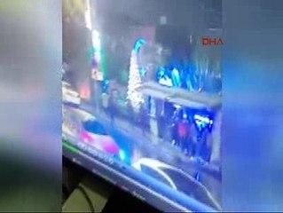 Teröristin Gece Kulübüne Giriş Anı Güvenlik Kamerasında
