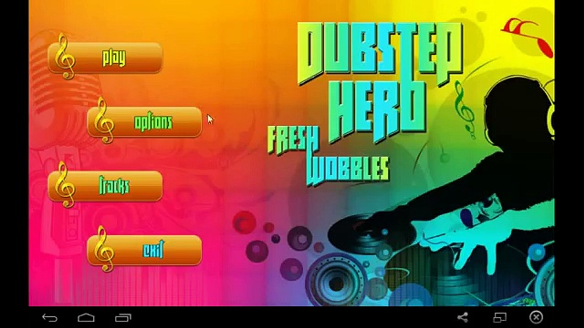 Dubstep Hero: Fresh Wobbles - for Android and iOS GamePlay
