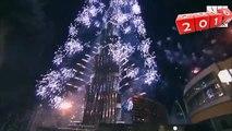 Burj Khalifa Dubai New Year Fire Works Show 2017