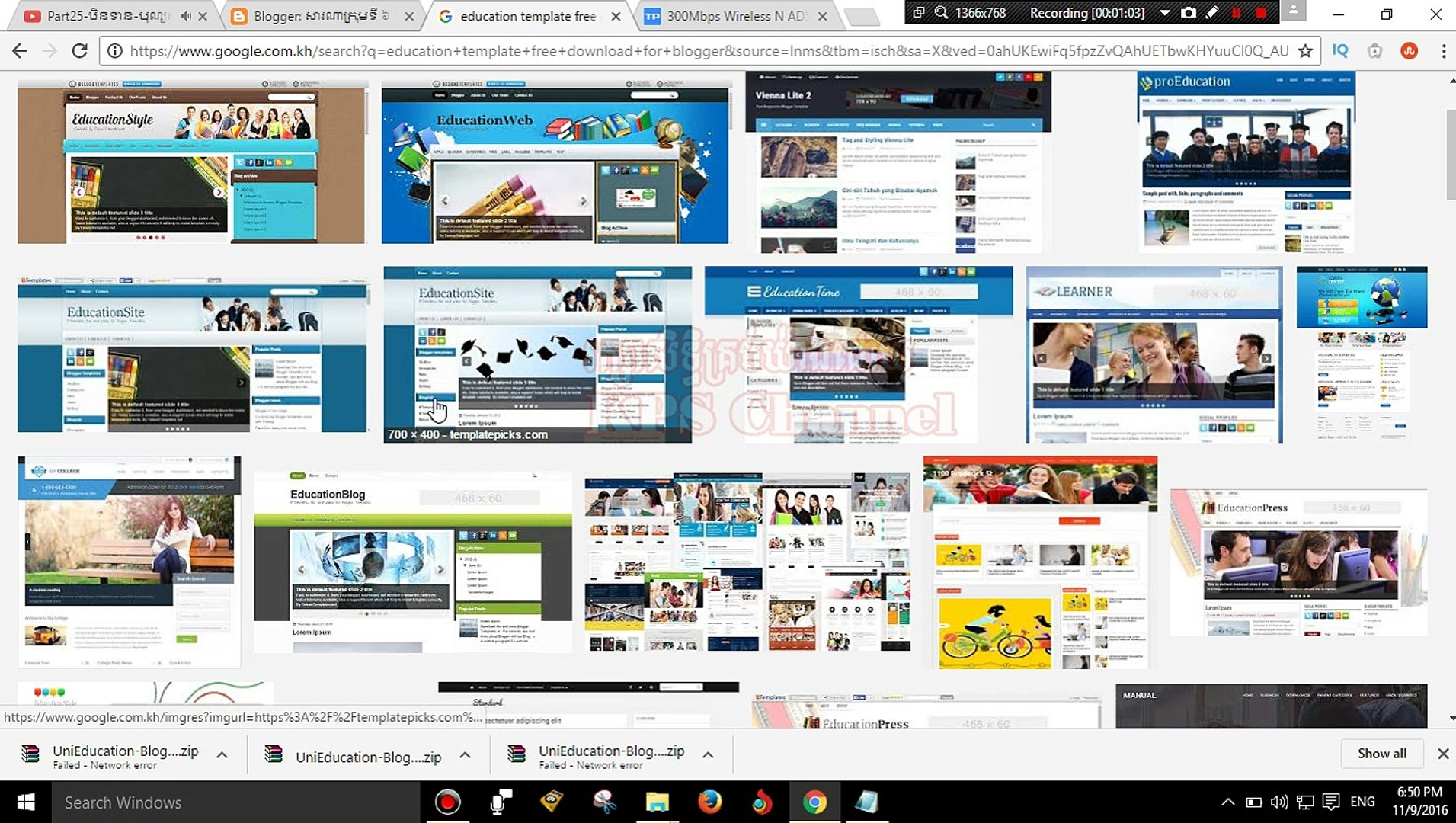3.How To Download Template For Blog And Change Blog Template
