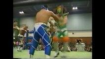 Kaentai DX vs Great Sasuke/Gran Naniwa/Super Delfin/Tiger Mask/Gran Hamada (Michinoku Pro 12/9/96)