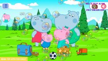 Hippo Pepa Mini Games - Clear a picture   Top Apps For Kids   Game Play Apps Demos Picture Scratch