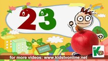 Nursery Rhymes 123 Counting Song with Funny Fruits