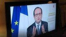 Silvester in Paris - und François Hollandes letzte Neujahrsansprache