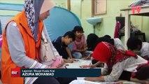 Sukarelawan JKM bantu mangsa banjir di Kuala Krai