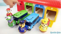 Paw Patrol Weebles Wobble Fashems and Mashems Tayo Little Bus Garage 꼬마버스 타요 퍼피 구조대 Learn Colors 유튜브