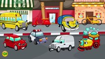 Cars for Kids Transportation sounds - names and sounds of vehicles Learning videos