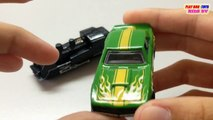 Tomica & Hot Wheels Toy | 68 Copocamaro Vs Steam Locomotive | Kids Cars Toys Videos HD Collection