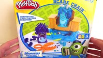 Play Doh Monsters University Scare Chair Barber Shop Hair Pixar Monsters inc