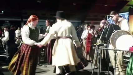 Atelier danse à Riga