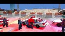 SPIDERMAN COLOR & HULK! EPIC MOTORBIKE PARTY & Nursery Rhymes Superhero Movie Ch