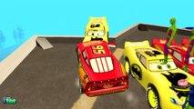 COLORS SPONGEBOB & COLORS SPIDERMAN SUPER HERO Movie EPIC PARTY DISNEY CARS McQueen Nursery Rhymes