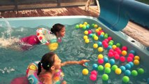 Pool Fun Play Balls Color Learning Fun with Ball Pit Balls