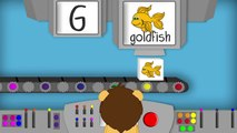 THE LETTER G - Phonics for Kids Alphabet Sounds PHONICS MACHINE ABC Sounds Kindergarten Preschool