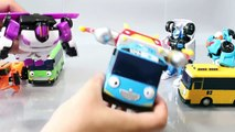 Tayo the Little Bus Tobot Robot Car Garage English Learn Numbers Colors Toy Surprise YouTube