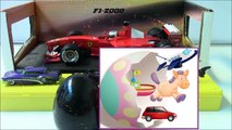 HOT WHEELS CARS WITH KINDER JOY SURPRISE EGG | BMW F1 2000 Model Toy Car - HOT WHEELS TOY CARS