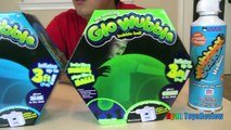Glow Wubble Bubble Ball Family Fun Playtime with GI
