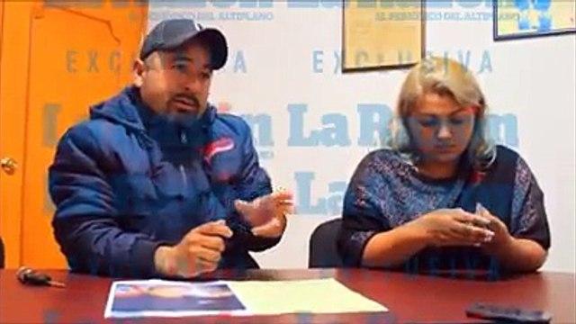 Estafan a los padres de Rubí Ibarra García (XV Rubi)
