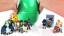 TEEN TITANS GO!! Huge Play-Doh Surprise Egg & TEEN TITANS GO PARODY!!! ROBINs LEADER PROBLEMS! Fun!