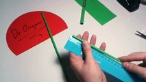 DIY- How to make a paper 'ROCKET LAUNCHER'' - EASY TUTORİAL
