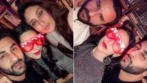 Kareena Kapoor | Saif Ali Khan | Ranbir Kapoor | Karisma Kapoor | New Year 2017 Party Inside Picture